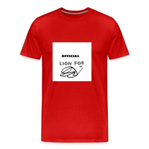"Lion Foe ""Signature"" - Männer Premium T-Shirt"