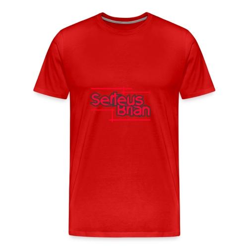 Baseball T-shirt RED - Mannen Premium T-shirt