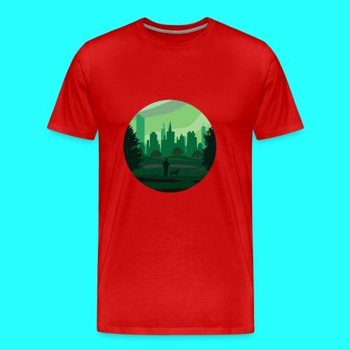 a green city - Maglietta Premium da uomo