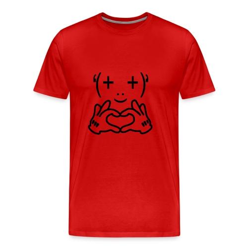 I Love - Camiseta premium hombre