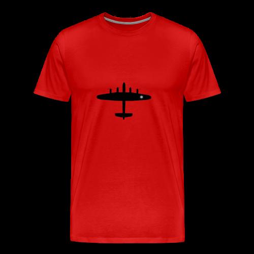 Lancaster WWII aircraft - Men's Premium T-Shirt