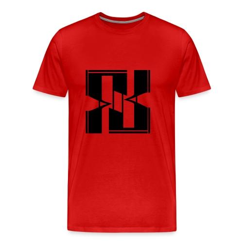 FLAKLOGO - Maglietta Premium da uomo