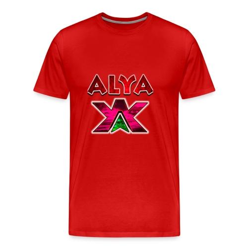 ALYA LOGO S - Premium T-skjorte for menn