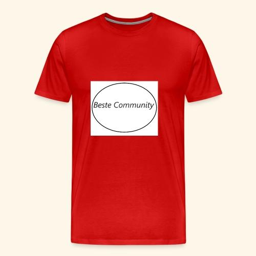 Community - Männer Premium T-Shirt