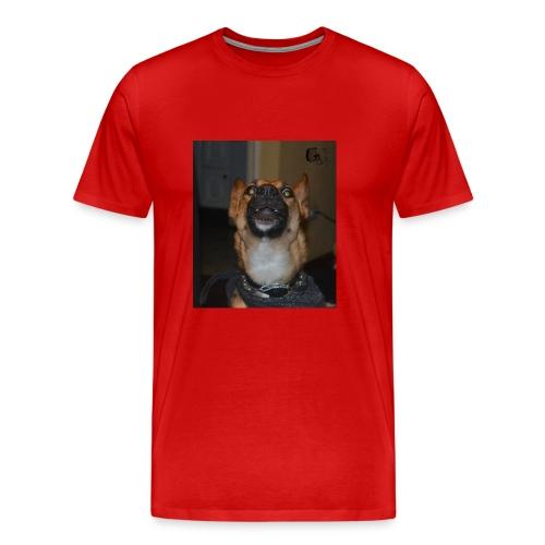 Pastor alemán Karma - Camiseta premium hombre