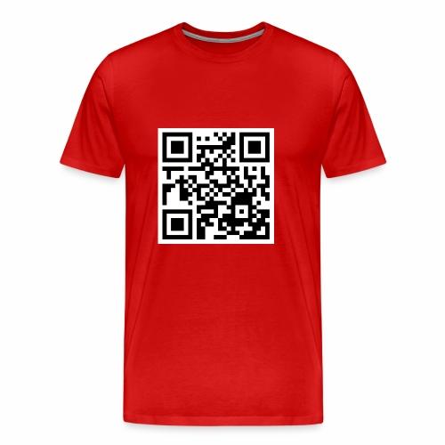 qrcode - Männer Premium T-Shirt