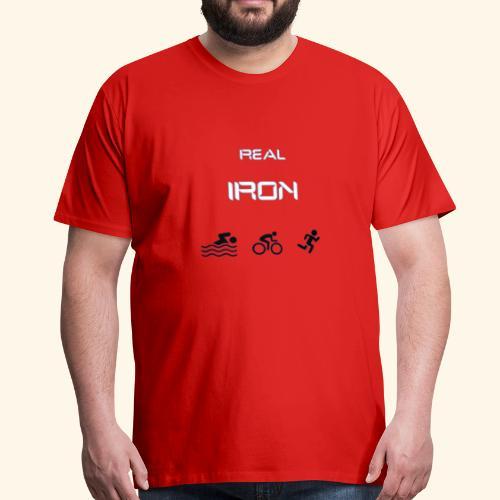 757149E3 D194 4423 8621 CC896AE35926 - Herre premium T-shirt