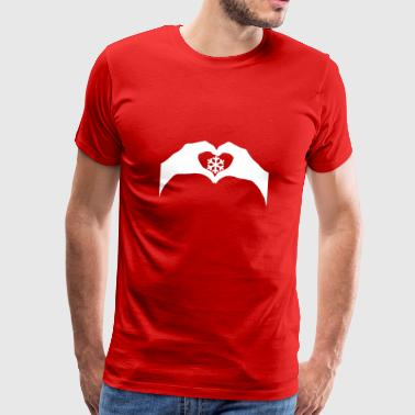 Love snow - Men's Premium T-Shirt