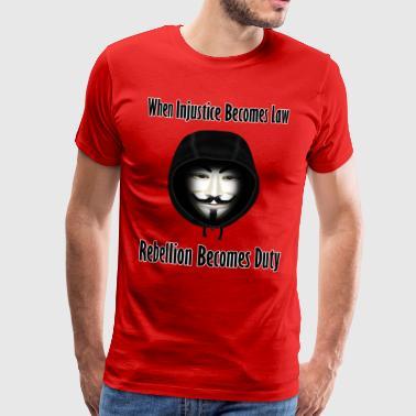 La ribellione è dovere - Maglietta Premium da uomo