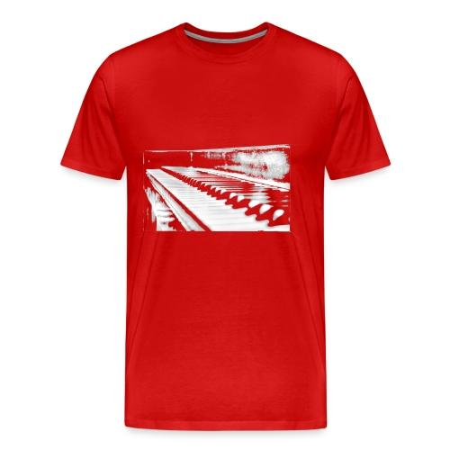 piano weiß - Männer Premium T-Shirt