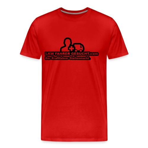 LKW FAHRER GESUCHT . COM - Männer Premium T-Shirt