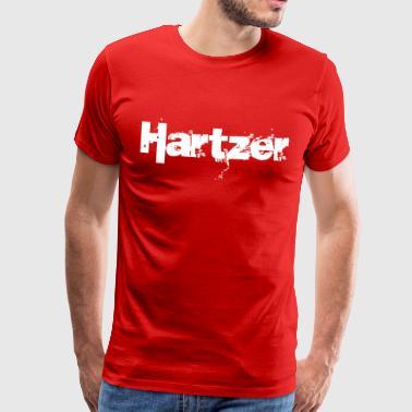 Hartz - Premium T-skjorte for menn