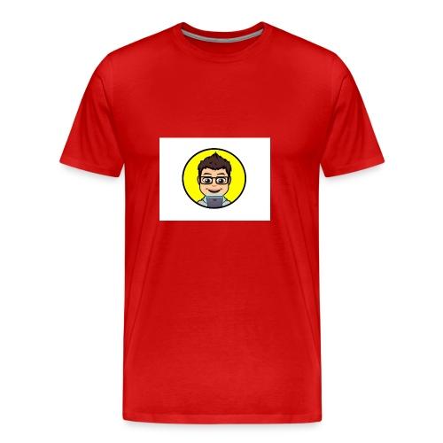 Youtube kanaal icon zonder naam - Mannen Premium T-shirt