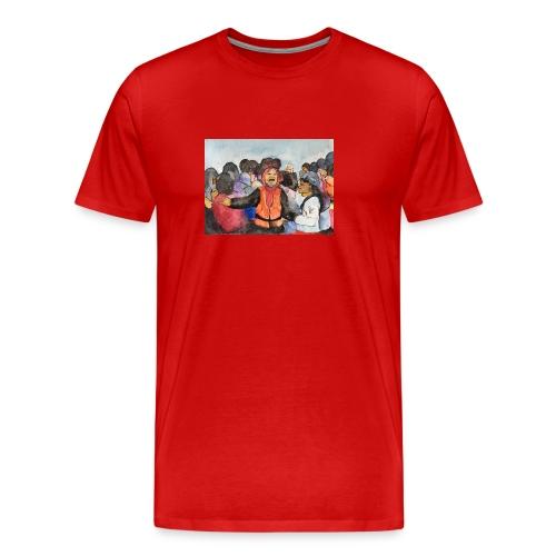 Lezvos22 - Premium-T-shirt herr
