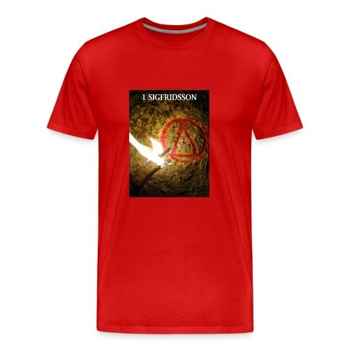 1 SIGFRIDSSON - Premium-T-shirt herr