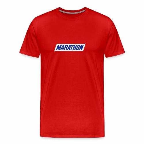 Marathon Emblem - Men's Premium T-Shirt
