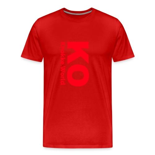 ko hoodie - Mannen Premium T-shirt