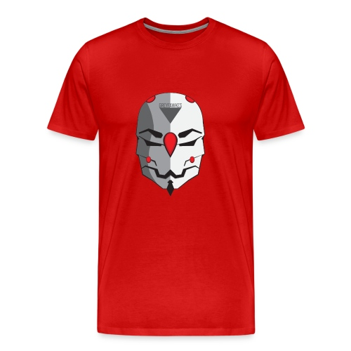 Greyfawkes logo colored - Men's Premium T-Shirt