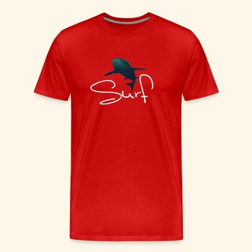 Hai Surf Design - Männer Premium T-Shirt