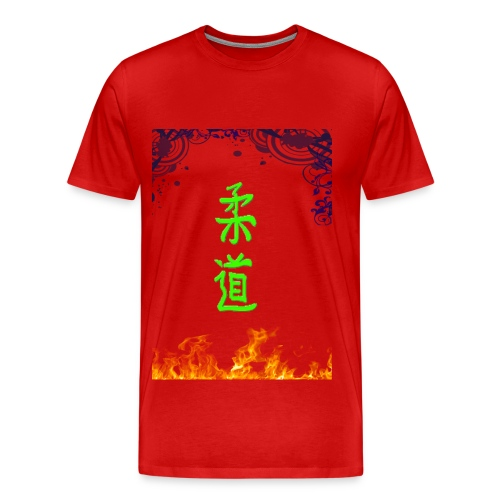 Judo On Fire - T-shirt Premium Homme