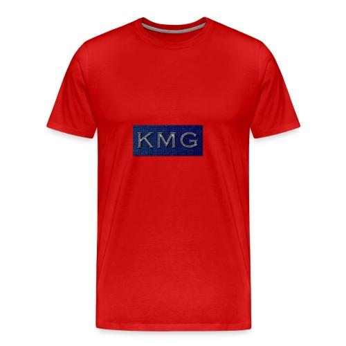 KMG - Herre premium T-shirt