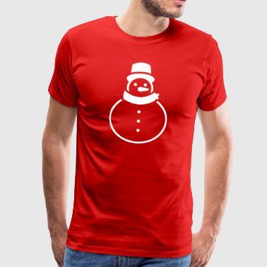 snowman - Men's Premium T-Shirt