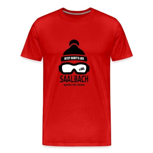 Après-ski team Saalbach - Mannen Premium T-shirt