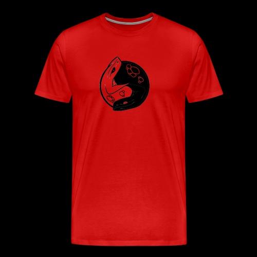 yin yang schlange - Männer Premium T-Shirt