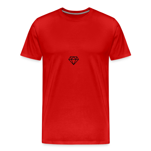 black diamond logo - Men's Premium T-Shirt