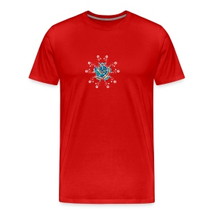 Flower Spiral - Men's Premium T-Shirt