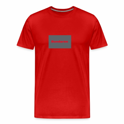 red dundaree t-shirt - Men's Premium T-Shirt