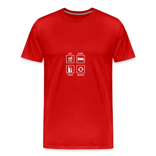 Vaping circle - Männer Premium T-Shirt