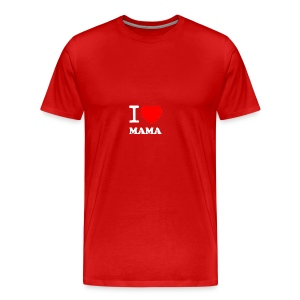 I love Mama - Männer Premium T-Shirt
