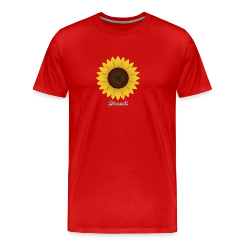 Girasoli_Flower - Männer Premium T-Shirt