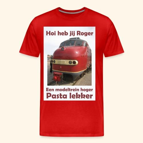 hoi heb jij roger - Mannen Premium T-shirt