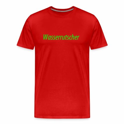 Wasserrutscher - Männer Premium T-Shirt