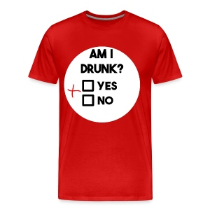 Am I drunk? - Men's Premium T-Shirt