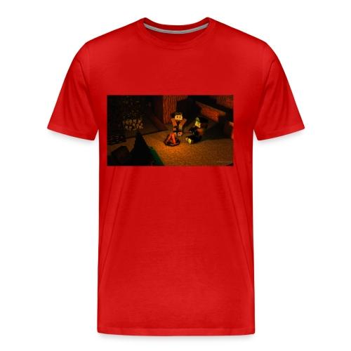 Minecraft Caming - Männer Premium T-Shirt