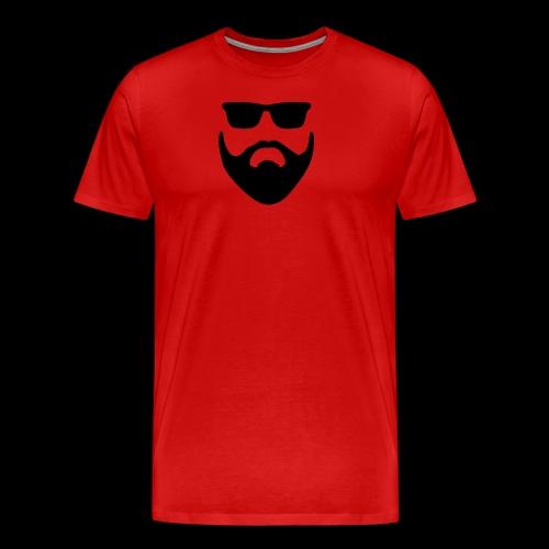 Bart und Sonnenbrille - Männer Premium T-Shirt