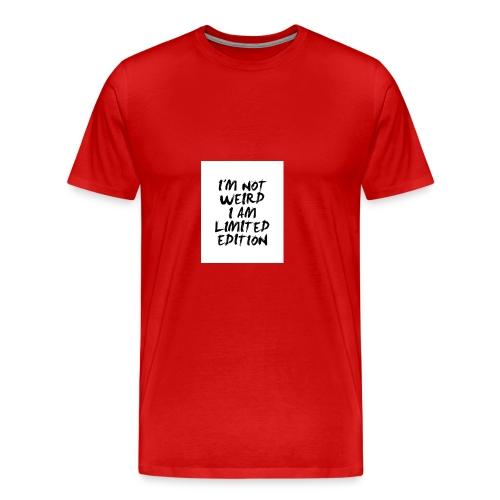 Limitet Edition - Männer Premium T-Shirt