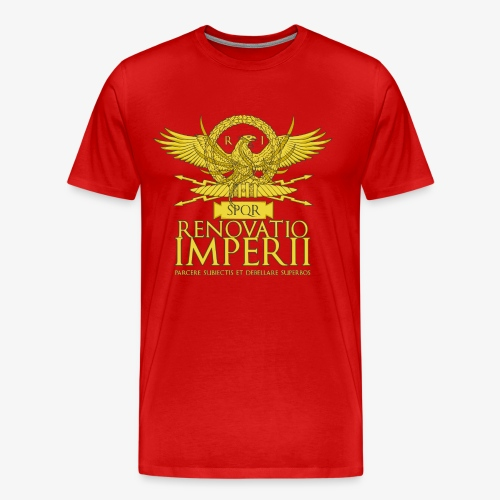 Emblema Renovatio Imperii - Maglietta Premium da uomo