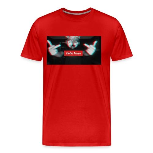 Delta Force Wolf - Männer Premium T-Shirt