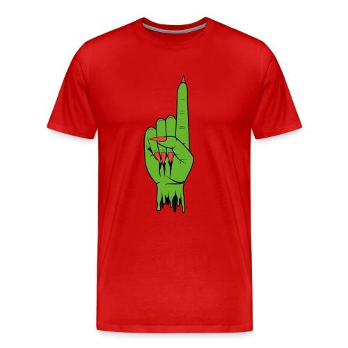 SpaceHoop - Green Hand - T-shirt Premium Homme