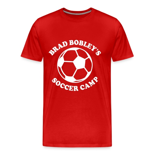Soccer Camp Logo No Initial - Men's Premium T-Shirt