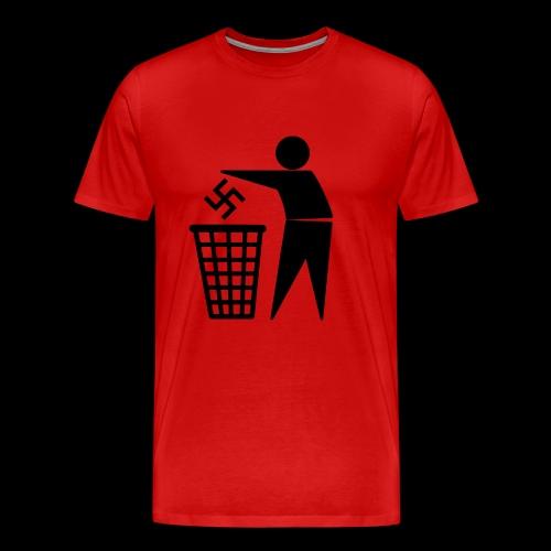 Nazis in die Tonne - Männer Premium T-Shirt