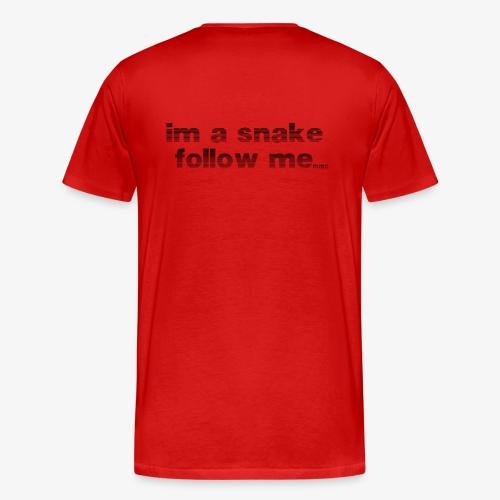 snake #1 - Männer Premium T-Shirt