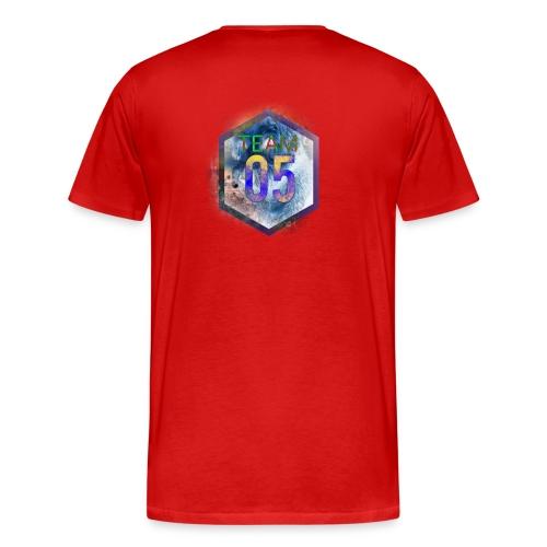 Very limited team05 logo - Herre premium T-shirt