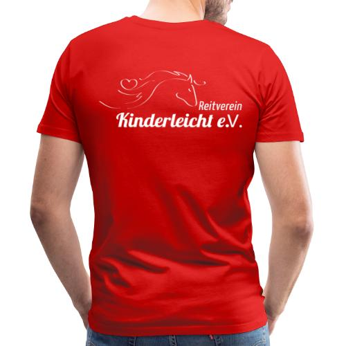 Reitverein Kinderleicht e.V. - Männer Premium T-Shirt