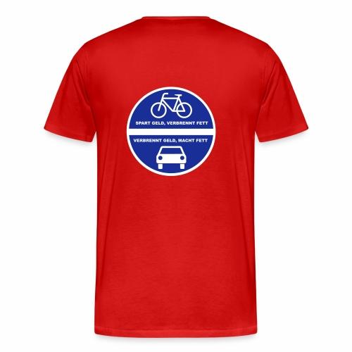 Sparverbrenner - Männer Premium T-Shirt