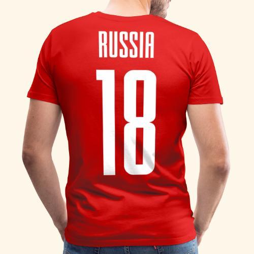 Russia 18 Rückennummer - Männer Premium T-Shirt